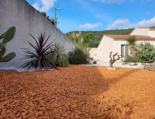 Aménagements paysagers d'un jardin